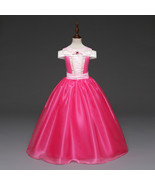 Cosplay Kids Prom Ball Gown Princess Pageant Wedding Flower Girl Dresses - $791,91 MXN