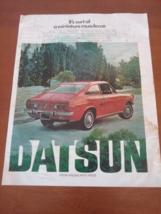 Vintage 1971 Datsun Life Magazine Ad - $8.95
