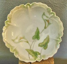 """Vintage Bowl  6"""" Calla Lily RS Germany - $19.00"""