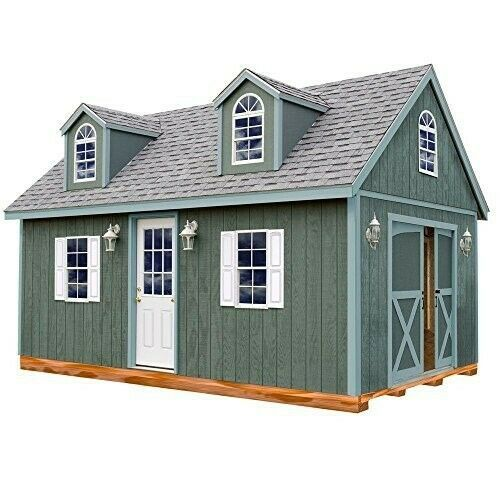 Man Cave - She Shed - Outdoor Wooden Cabin - 12X20ft Floor and Hardware Included