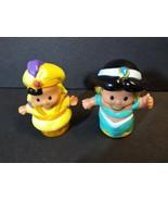Fisher Price Little People Jasmine and Aladdin Disney - $11.83
