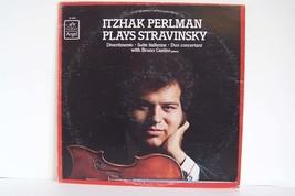 Bruno Canino - Itzhak Perlman Plays Stravinsky Vinyl LP Record Album RL-... - $5.73