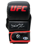 Dominick Reyes Signed Black Left UFC MMA Sparring Glove BAS - $98.99