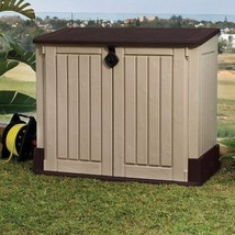 Garden Storage Shed Large Patio Outdoor Container Box Organizer Utility ... - $211.99