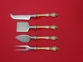 Lasting Grace by Lunt Sterling Silver Cheese Serving Set 4 Piece HHWS  Custom - $247.10