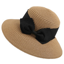 Feitong 2019 women hat Women Floppy Foldable Ladies Women Straw Beach Su... - $10.64