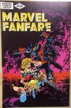 MARVEL FANFARE #2 (1982) Marvel Comics Fantastic Four Spider-Man Ka-Zar ... - $9.89