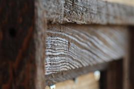 "Post & Beam - Cypress Floating 3.5"" Frame - Dark Walnut Finish -(All Sizes) Auth - $27.00"