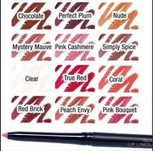 Avon Glimmersticks Lip Liner Chocolate Lot Of 4 - $24.00