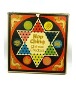 Vintage Pressman Toy Corp Hop Ching Chinese Checkers - COMPLETE - $29.65