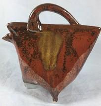Handmade Studio Pottery Abstract Modern Art Col... - $20.17