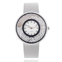 Hot Sale Fashion Stainless Steel Rose Gold & Silver Band Quartz Watch Lu... - $10.20+