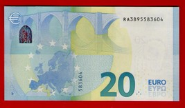 Germany Berlin - 20 Euro Note (Ra) Draghi Signature. Gem Unc. R006 - Neuf (Unc)* - $41.81