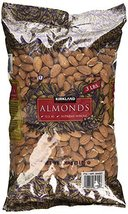 Kirkland Signature QlIYTl Supreme Whole Almonds, 3 Pound (3 Pack) - $73.25
