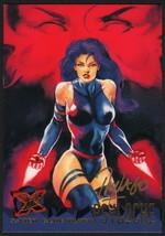 Ray Lago SIGNED X-Men Art Trading Card ~ Psylocke 1995 Fleer Ultra - $16.82