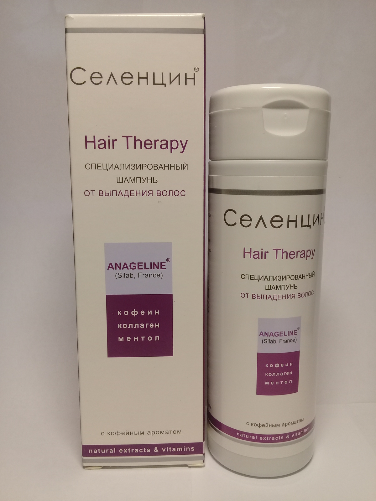 """Specialized Shampoo for Hair Loss Selencin """"Hair Therapy"""" 200 ml."""