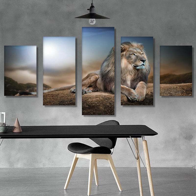 DIY Diamond Painting Animal Lion 5D Embroidery Diamond Painting Mosaic Crafts