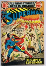 Superman #255 ORIGINAL Vintage 1972 DC Comics Sun of Superman - $18.55