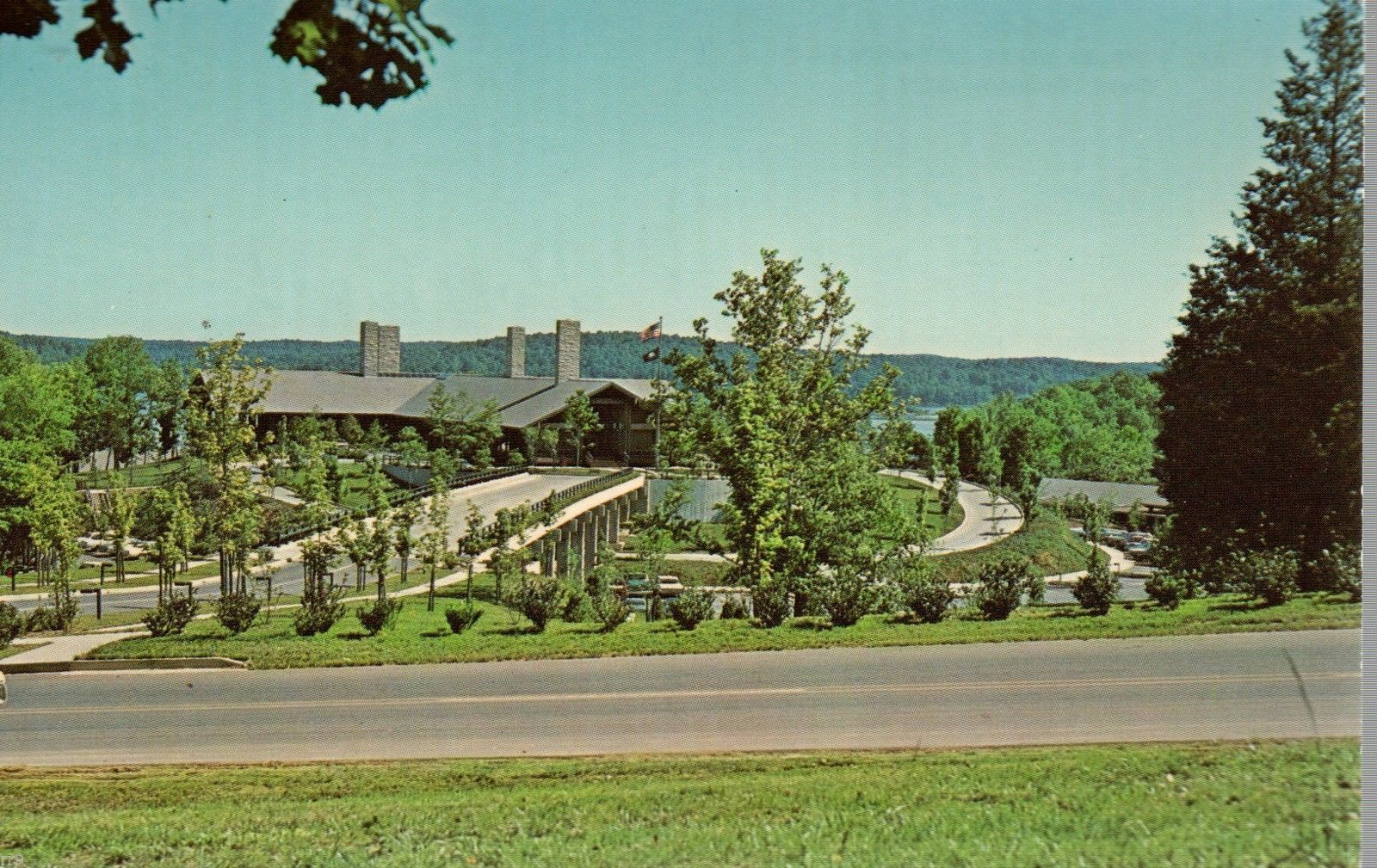 Primary image for Lodge - Lake Barkely State Resort Park- Cadiz, Kentucky - Postcard