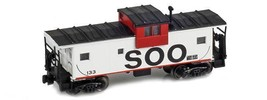 AZL 921002-1 Z Scale Wide Vision Caboose Soo Line #120 - $61.95