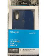 Speck CandyShell Case for iPhone XR Deep Sea Blue/Slate Grey New - $14.84