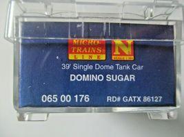 Micro-Trains # 06500176 Domino Sugar 39' Single Dome Tank Car Car # 5 N-Scale image 5