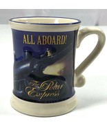 All Aboard! The Polar Express Believe Christmas Contoured Coffee Cocoa M... - $8.93