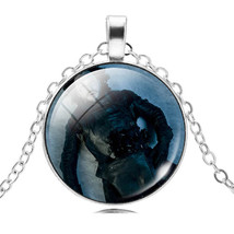 LIEBE ENGEL Game of Thrones Necklace Women Glass Cabochon Necklace & Pen... - $5.28