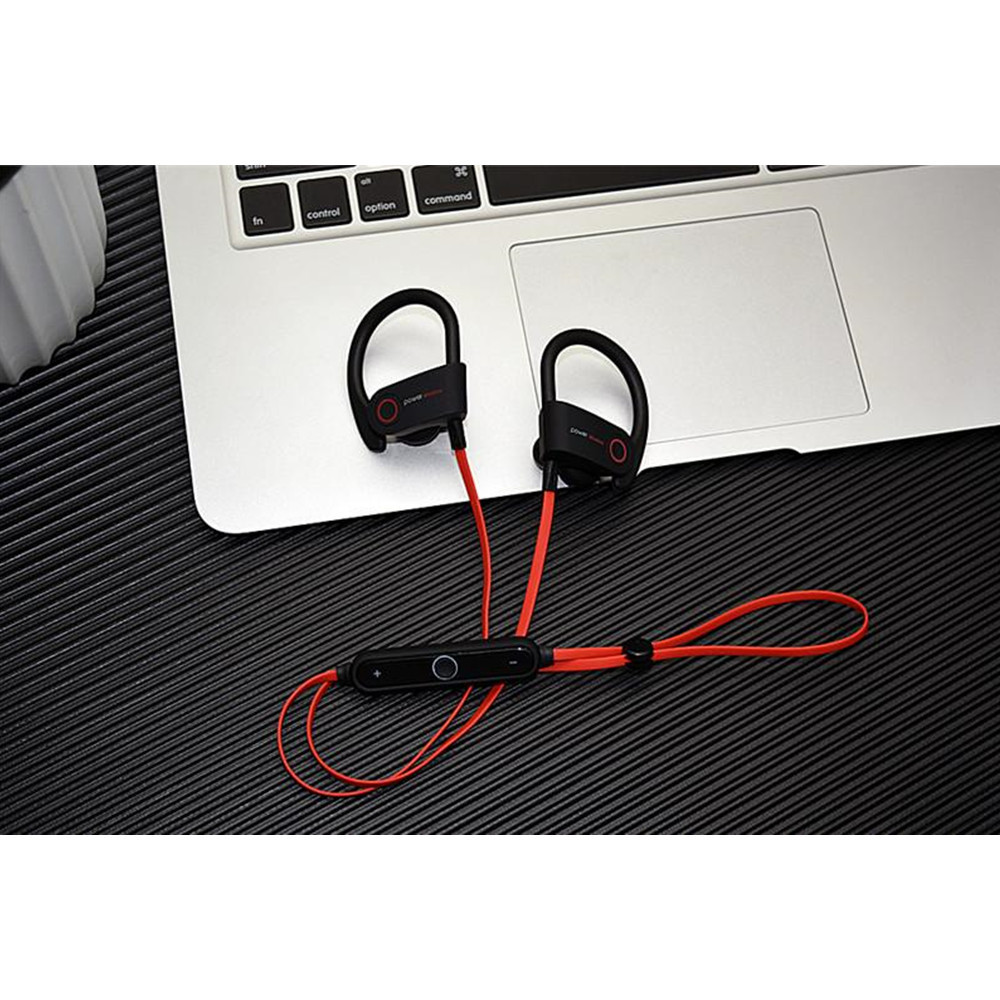 G5 Bluetooth Retractable Neckband Sweatproof Headset For Apple iPhone & Android