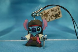Takara Tomy Disney Lilo & Stitch Pirates Style Mini Figure Strap 626 Sti... - $19.99