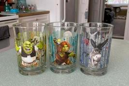 "McDonald's ""Shrek The Third"" Collectible Drinking Glasses (2007) - Set o... - $17.82"
