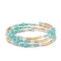 Avon Golden Mustang Wrap bracelet - $9.99