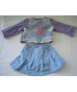 American Girl Doll Like Your Style Outfit Skort & Shirt - $13.00