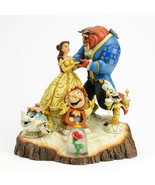 """7.75"""" Beauty - Beast Figurine Carved By Heart by Jim Shore Disney Tradit... - $104.98"""