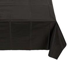 Darice 1140-79 Rectangle Plastic Table Cover, Black - $6.17