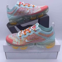 Nike Air Vapormax 2019 QS Teal Tint Ember CD7096-300 Women's Size 6.5 - $148.49