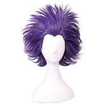 ColorGround Short Anime Cosplay Wig Short Purple - $16.89