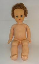 1950s Original Ideal Honeybunch Doll VS 19 Soft Rubber Sleepy Eye Squeak... - $29.40