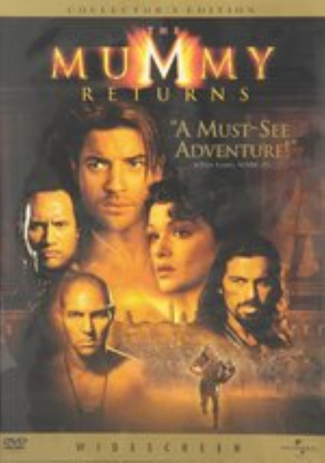 The Mummy Returns Dvd