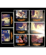 Vintage 1976 Carrie Movie Lobby Cards Full Set of 8 Stephen King Sissy S... - $84.00