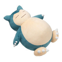 2017 Jumbo SNORLAX Pokemon Center Kabigon Plush Toy Soft Doll 30cm Figur... - $16.99