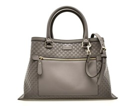 Gucci Microgucissima GG Embossed Leather Tote Shoulder Bag New - $1,089.00