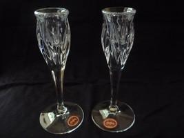 Gorham crystal candlestick holders - $20.00