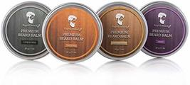 Beard Balm Conditioner 4 Pack - Natural Variety Leave-in Conditioner Wax Butter  image 6