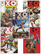 Valiant X-O Manowar Lot Issues #17,18,20-22  Action Adventure Drama - $11.95
