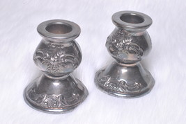 Vintage Collectible Baroque by Wallace 736 Pattern 2 Candle Holders - $79.00