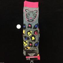 Funky Novelty--CHEETAH LEOPARD KNEE HIGHS SOCKS--Wild Animal Print Cheer... - $5.91