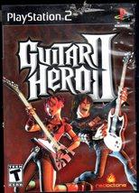 GUITAR HERO II   PLAYSTATION 2 GAME COMPLETE image 1