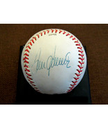TOM SEAVER 1969 WSC NEW YORK METS HOF SIGNED AUTO VINTAGE DUDLEY LL BASE... - $395.99