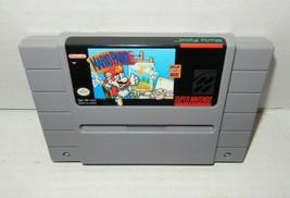 Super Nintendo SNES Mario Paint Game Cartridge 1992 - $8.99